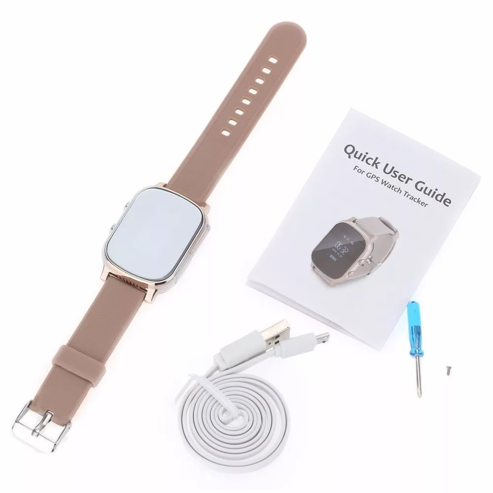 595044b5057c Часы с gps трекером Smart Age Watch Wonlex T58/GW700 Gold в Москве